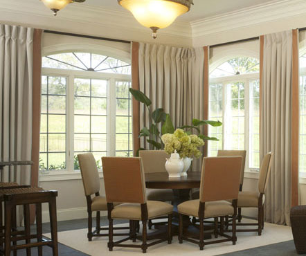The High Cost Of Window Treatments For A Large Home The