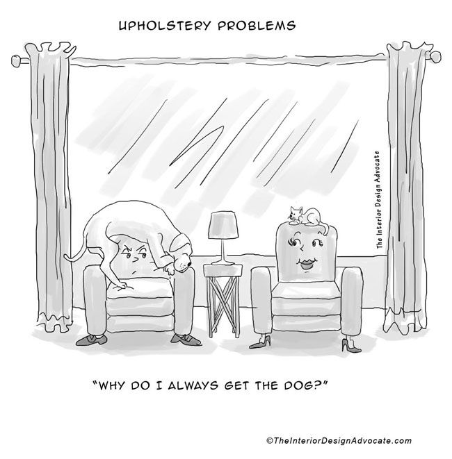 upholstery problems the interior design advocate