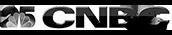 25 CNBC logo