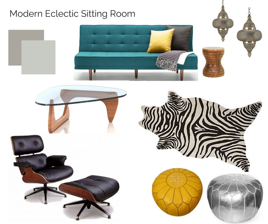 Room In A Box Modern Eclectic Sitting Room The Interior