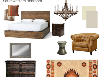 Room In a Box: Southwestern Bedroom