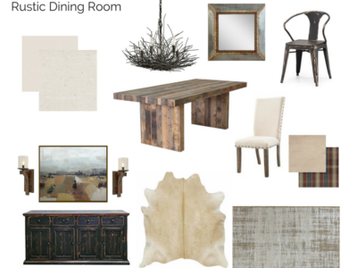 Room In A Box: Rustic Dining Room