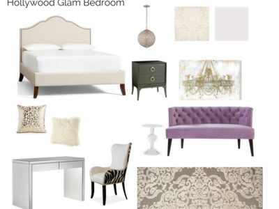 Room In A Box: Hollywood Glam Bedroom