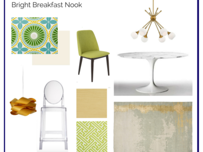 Room In A Box: Bright Breakfast Nook