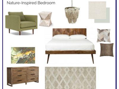 Room In A Box: Nature Inspired Bedroom