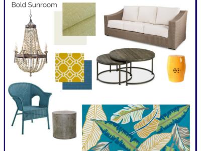 Room In A Box: Bold Sunroom