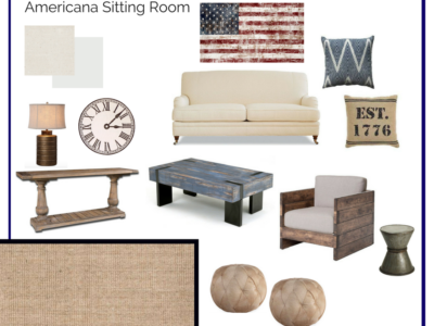 Room in a Box: American Sitting Room