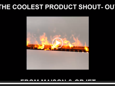 The Coolest Product Shout – Out