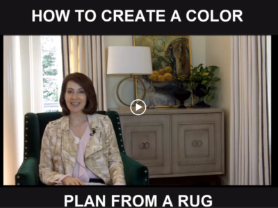 Creating a Room Color Plan from a Rug