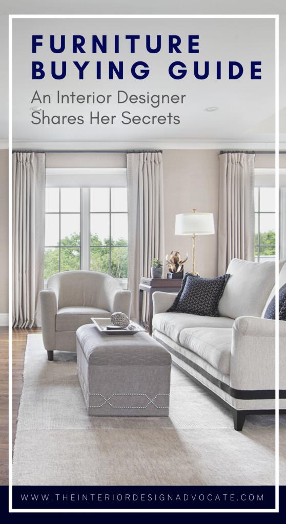 Interior design online furniture buying guide