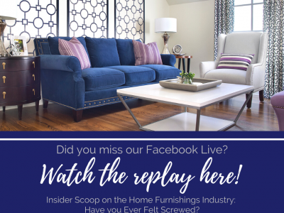 Inside Scoop on The Home Furnishing Industry