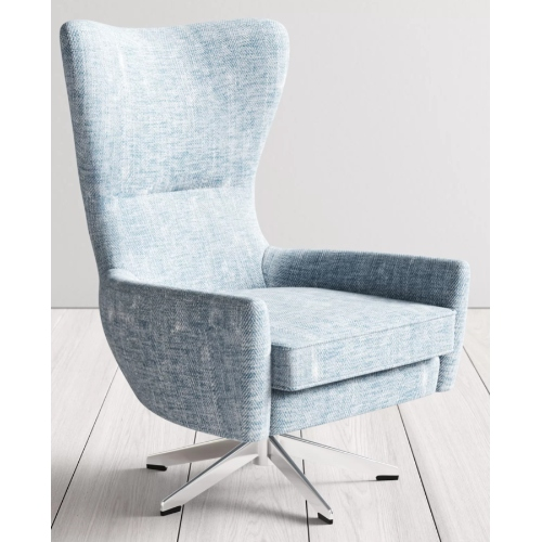 Joss and Main wingback swivel chair