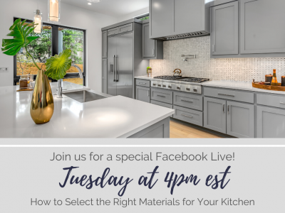 How to Select the Right Materials for Your Kitchen
