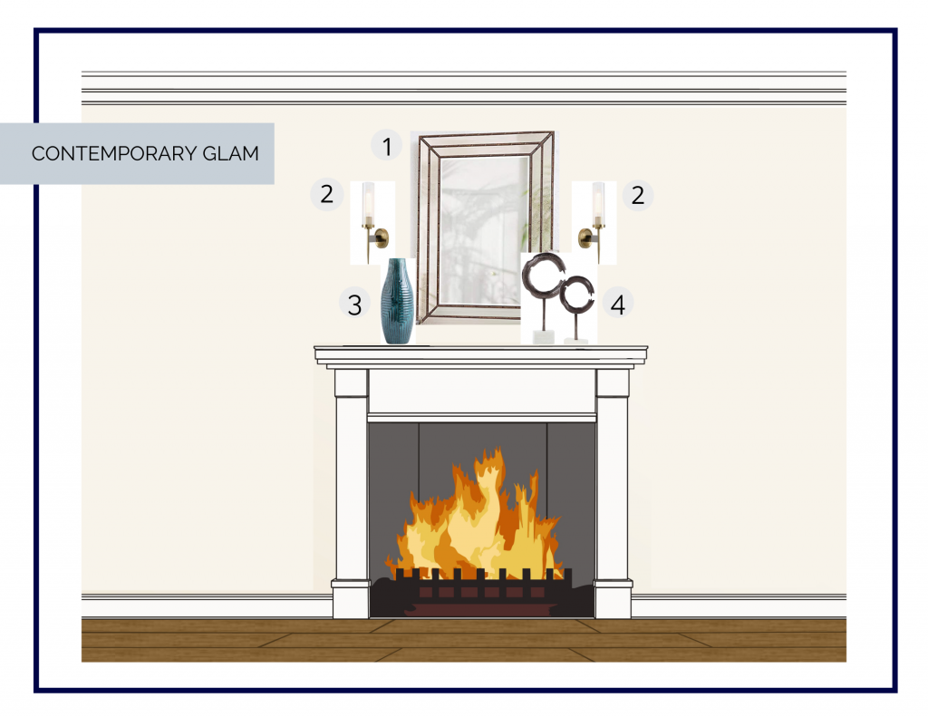 May Mantel in a Box interior design online